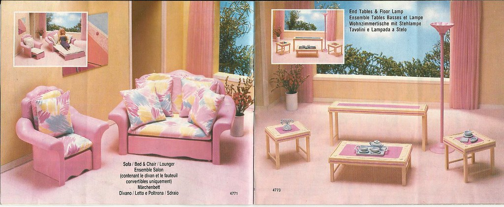 Barbie Living Pretty Furniture Collection | Rocío | Flickr