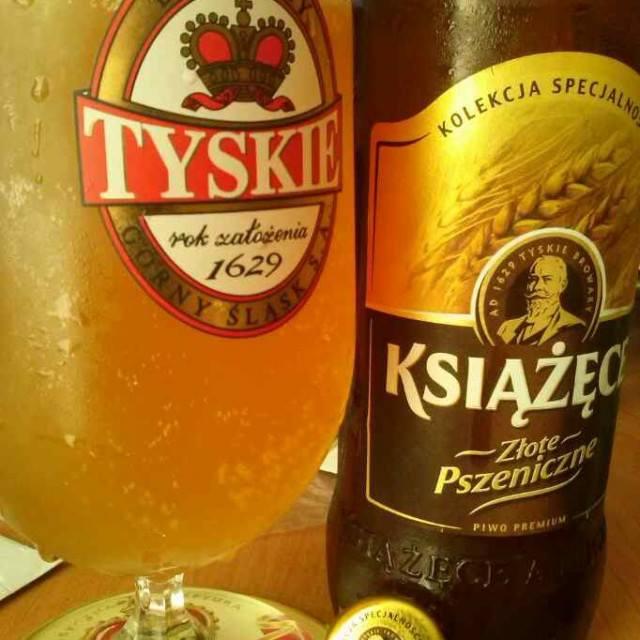 Książęce Złote Pszeniczne Weizen Beer Brewed By Tyskie B Flickr