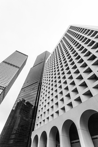 美利大廈 Murray Building / 香港政府辦公建築之形 Hong Kong Government Office Architecture Forms / SML.20130615.6D.15880.BW | by See-ming Lee (SML)