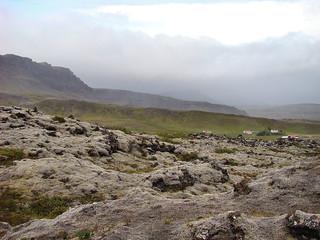 052 Uitzicht vanaf de rand van de Grábrók