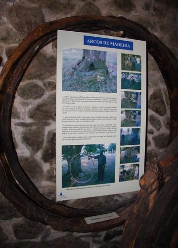 Arcos de madeira. Ecomuseo de Arxeriz