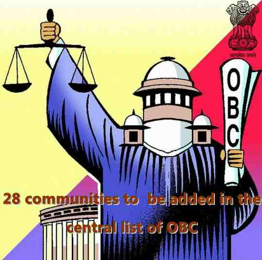 Union Cabinet 28 communities