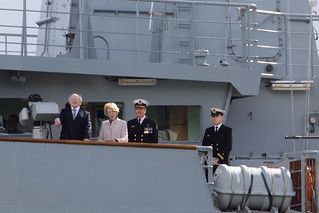 President Higgins conducts fleet review | by Brian Clayton