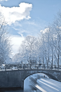 Amsterdam in infrared | by Valerio Loi