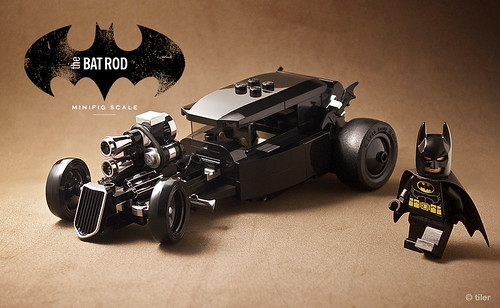 The 'other' car  –  minifig scale lego Batmobile | by _Tiler