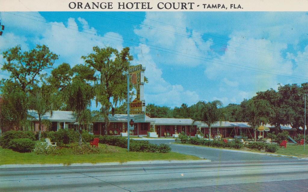 Orange Hotel Court - Tampa, Florida