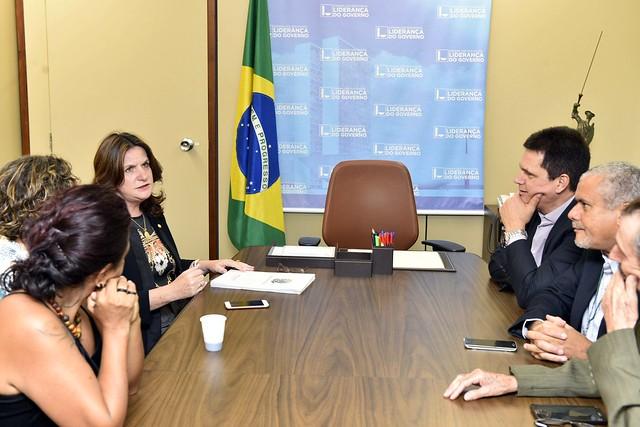Reunião com líder do governo - Outubro 2016