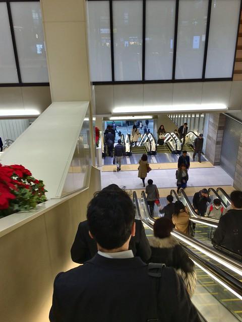 JR Chiba Station refurbishment 2016-05