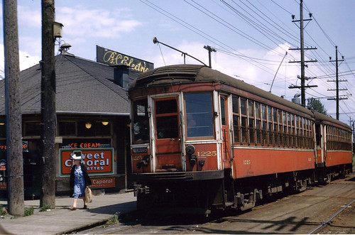 Interurban at Marpole Station, 1949 | by blizzy63