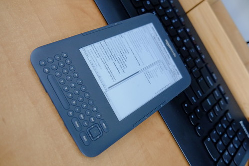 BBAD Chat Running on an old Amazon Kindle | by Reg Natarajan