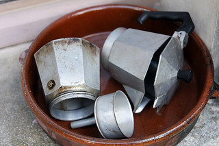 moka pot | by David Lebovitz