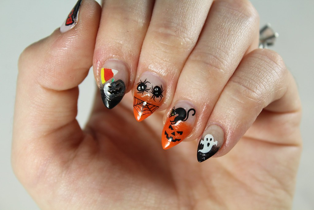Halloween nail art stickers
