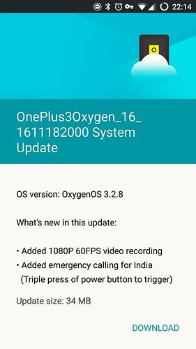 OxygenOS 3.2.8