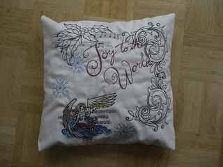 Christmas pillow | by kylaparker