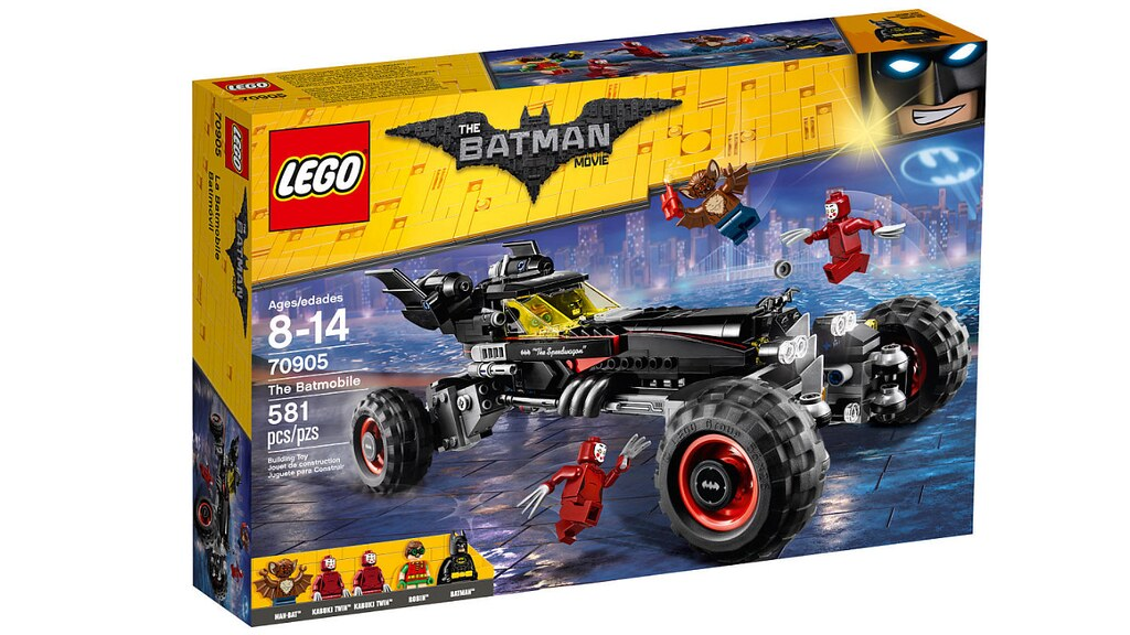 LEGO The Batman Movie 70905 - The Batmobile