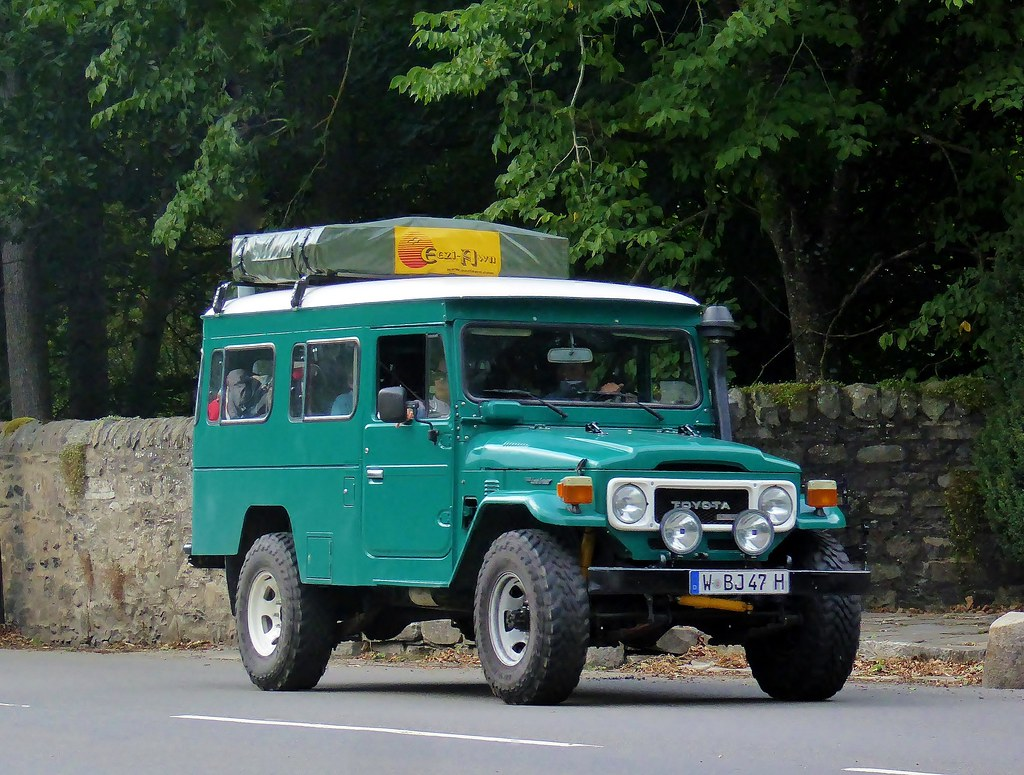 W Bj 47 H Toyota Land Cruiser Fj40 I Saw This German Re Flickr By Firefly