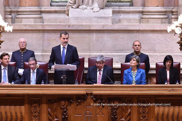 Visita Oficial - Reis de Espanha em Lisboa