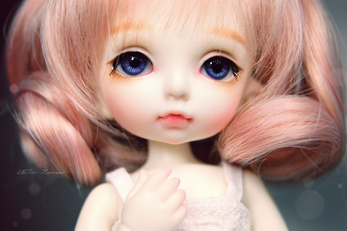 Mochi's new faceup ~ | by Lola · Atelier Momoni +