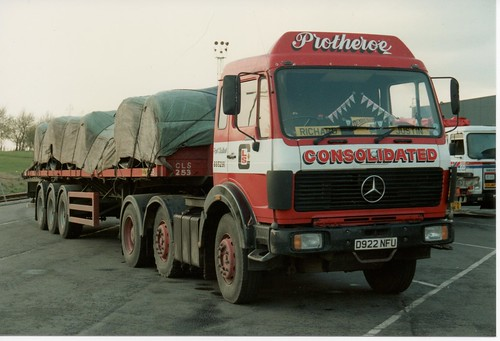 Consolidated land services scunthorpe protheroe d922 nf for Mercedes benz sugar land service