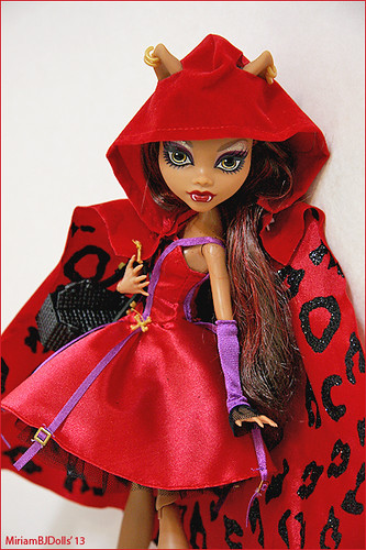 Clawdeen wolf caperucita roja monster high miriam flickr - Clawdeen wolf pyjama party ...