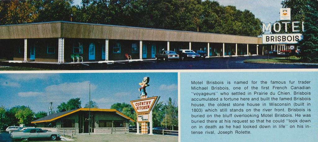 Motel Brisbois & Country Kitchen - Prairie du Chien, Wisconsin