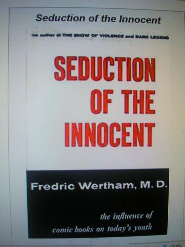 wertham seduction of the innocent pdf
