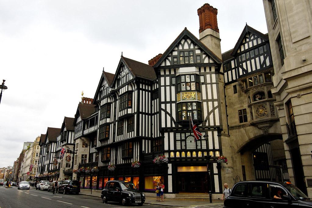 Liberty Departmental Store Along Great Marlborough Street