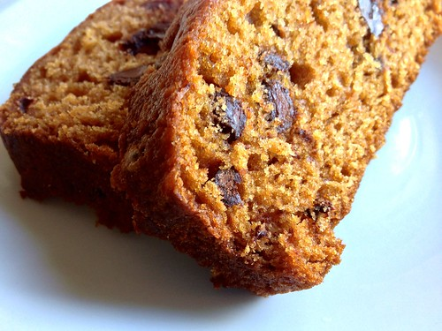 pumpkin chocolate chip loaf | by cake&bourbon