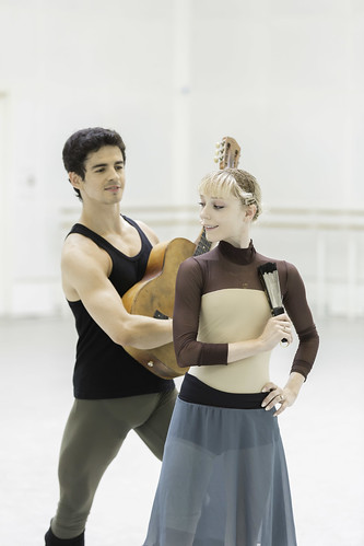 Sarah Lamb and Federico Bonelli in rehearsals for Don Quixote © ROH / Johan Persson 2013 | by Royal Opera House Covent Garden
