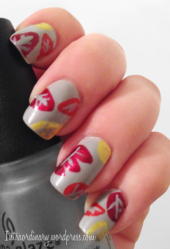Autumn Nails | intraordinary Facebook Pinterest | Katie Hastings ...