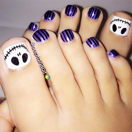 Nail Art For Toes Simple Designs Via Art Gallery Ift1p Flickr