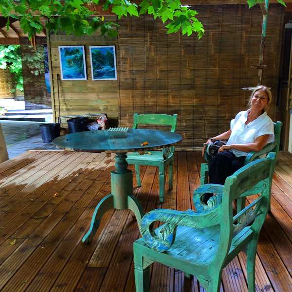 Chef Marie Blue Osa France Yoga Retreat