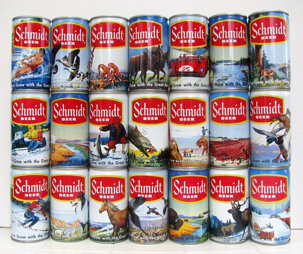 schmidt-beer-cans