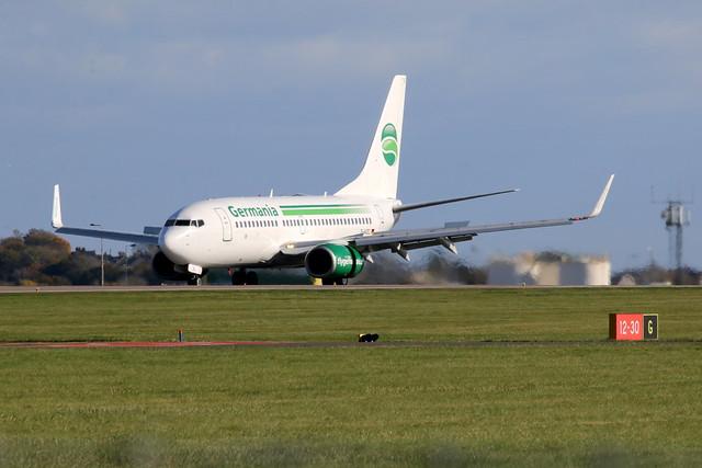 D-AGEL landing.