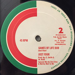 JUST FOUR:GAMES OF LIFE(LABEL SIDE-B)