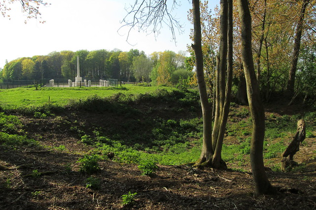 Crater, Railway Wood, Ypres