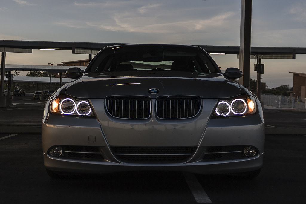 Bmw 335i E90 Angel Eyes Mtec V3 Lights Are White In Person Flickr