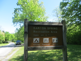 Barton Springs--Front Entrance Sign | by camprrm