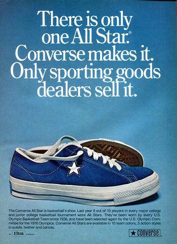 Converse Shoe Advertisement