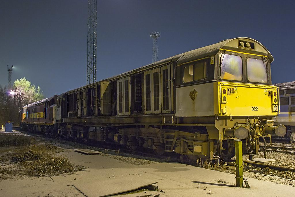 ... 58022 Crewe 26022006 | by Waddo's World of Railways