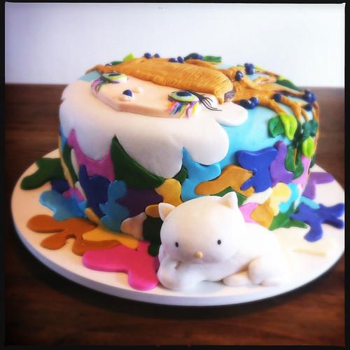 Cake Artista : Bolo para a artista Nina Pandolfo! (Cake for artist Nina P ...