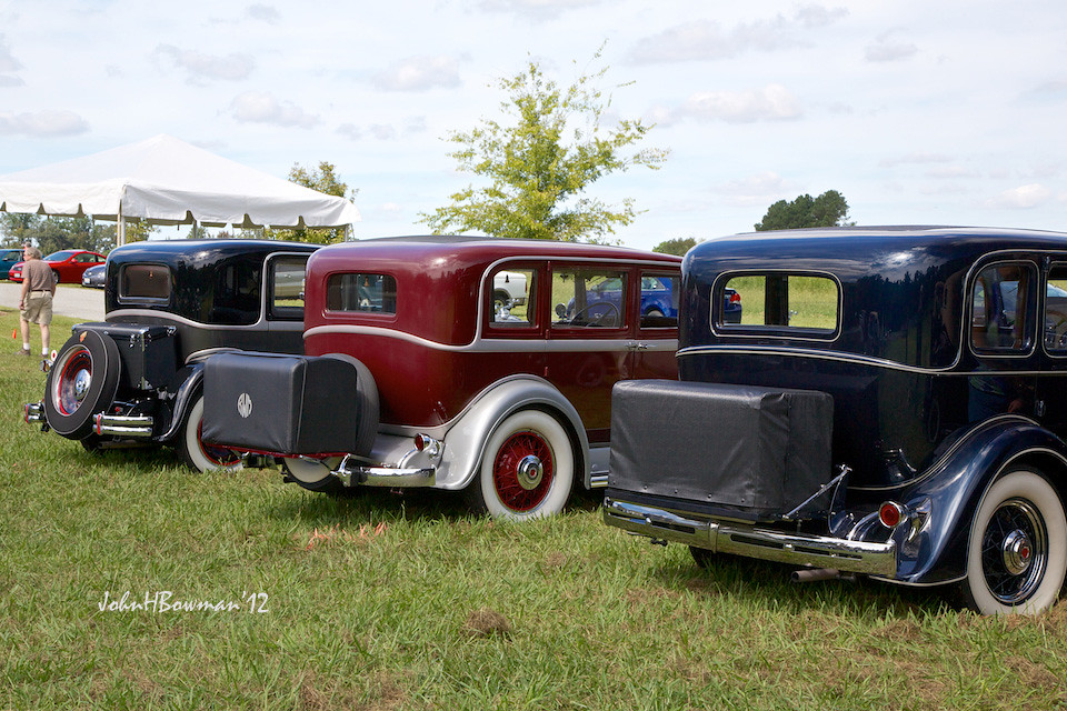 when car trunks really were trunks this trio of early 30s flickr