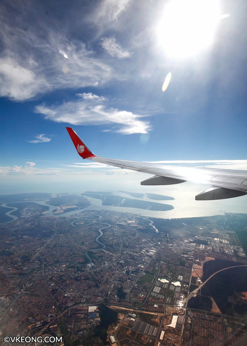 Flying Malindo Air from Kuala Lumpur to Bangkok