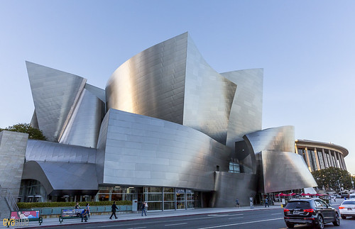 Walt Disney Concert Hall The Broad Museum Los Angeles 01 | by Eva Blue