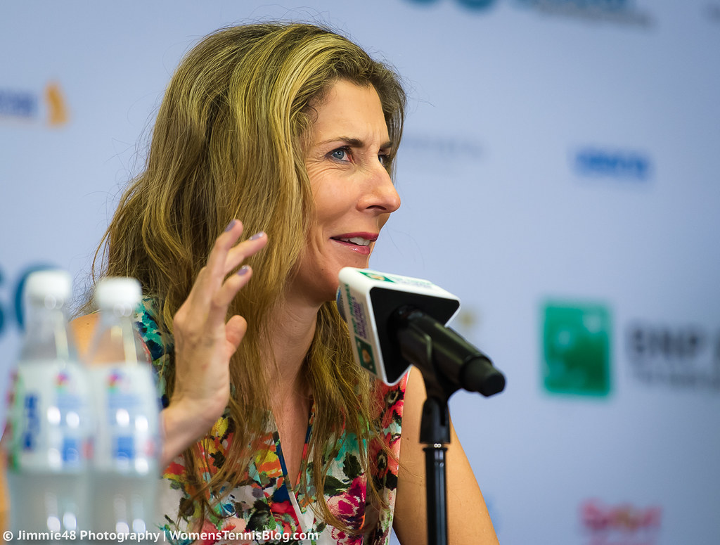 Monica Seles WTA Finals 2016 WTA Year End Championships…