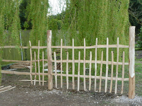 Rustic Chestnut fencing | by The Heartwood