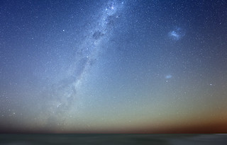 Milky Way and the Magellan Clouds | by lrargerich