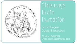 Business Card | by Sarah Burgess a.k.a SBI:M