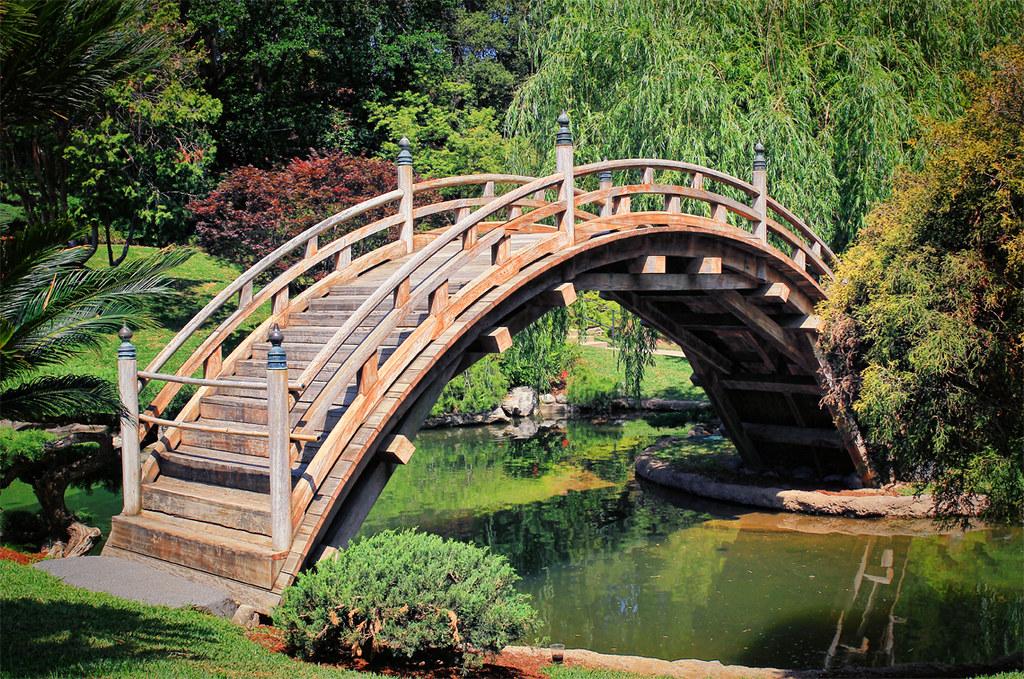 ... Japanese Garden Bridge | by Dave Toussaint (www.photographersnature.com)