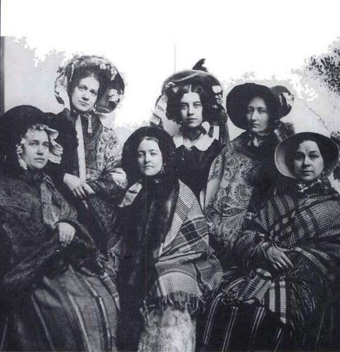 Captain's Wives, ca. 1865 | by wolfgraebel